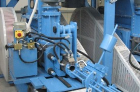 Briquette press production