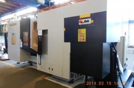 QUASER HX635B / Fanuc  CNC megmunkálóközpont