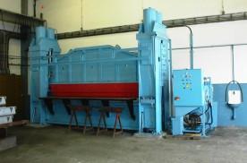 Brunner EH 860  hidraulikus élhajlítógép