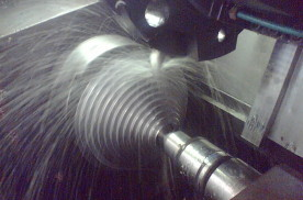 CNC metal forming