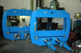 Production and refurbishment of rubber industry machinery