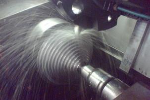 Machine-cut parts